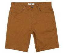 Outsider 5 Pockets - Shorts - Braun