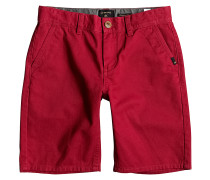 Everyday Chino - Shorts für Jungs - Rot