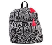 Black&White Backpack - Rucksack für Damen - Schwarz