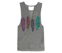 Cooler - T-Shirt für Mädchen - Grau