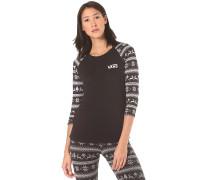 Reindeer - Langarmshirt für Damen - Schwarz