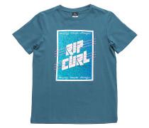 Aggroframe Rectangle - T-Shirt für Jungs - Blau