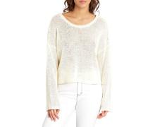 Girl Away - Langarmshirt für Damen - Weiß