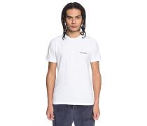 Embroidered - T-Shirt - Weiß