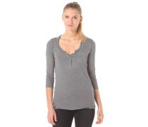 Doubled - Langarmshirt für Damen - Grau