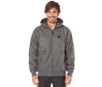Polarzipper Hemp 2 - Funktionsjacke - Grau