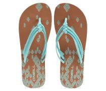 3 Strap Ditsy - Sandalen für Damen - Grün