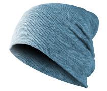 Basic Flap Mütze - Blau
