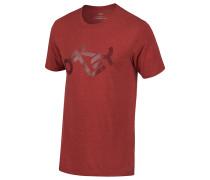 Tri-Tone - T-Shirt für Herren - Rot