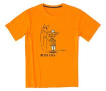 Tehaca - T-Shirt für Herren - Orange