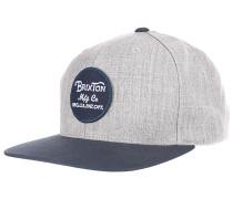 Wheeler Snapback Cap - Grau