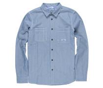 Collage Chambray L/S - Hemd für Herren - Blau