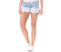 Denim High Waist - Shorts für Damen - Blau