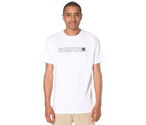 Logo Horizontal - T-Shirt für Herren - Weiß