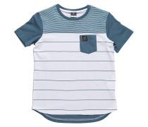 Sims Stripe - T-Shirt für Jungs - Blau