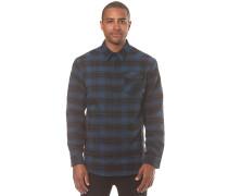 Stretch Flannel - Hemd für Herren - Blau