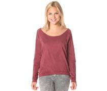 Vintage Fair - Langarmshirt für Damen - Rot