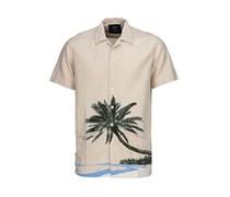 Dickies Hawaiian Gardens - Hemd für Herren - Beige
