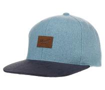 Pitchout 6-PanelSnapback Cap Blau