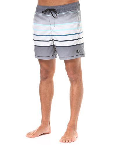 All Day Geo LB 16 - Boardshorts - Grau