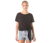 Tracy - T-Shirt für Damen - Schwarz
