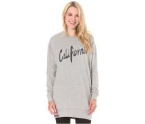 Loose Fit Crew - Sweatshirt für Damen - Grau