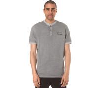 Henley - T-Shirt für Herren - Grau