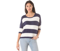 Block Striped - Strickpullover - Blau