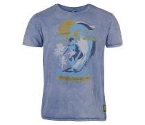 Akimbo - T-Shirt für Herren - Blau