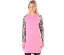Slit Crew - Sweatshirt für Damen - Pink