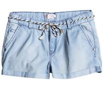 Just A Habit - Shorts für Mädchen - Blau