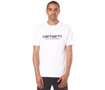 Script - T-Shirt für Herren - Weiß