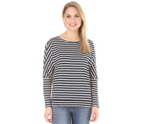 Jacks Base Striped - Langarmshirt für Damen - Blau