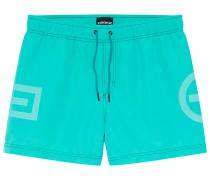 Badehose Plus-Minus-Design - Boardshorts - Grün