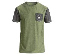 Badge Pocket Tee - Lycra für Jungs - Grün