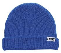 Fold Mütze - Blau