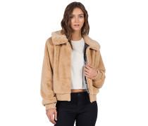Furcasting - Jacke für Damen - Braun
