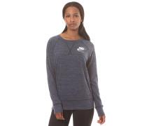 Gym Vintage Crew - Sweatshirt für Damen - Blau