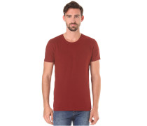 O-Neck - T-Shirt für Herren - Rot