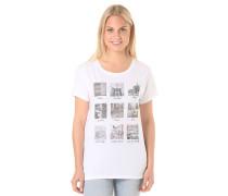Nine Up - T-Shirt für Damen - Weiß