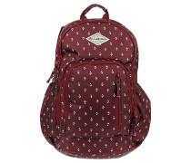 Roadie - Rucksack für Damen - Rot