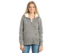 Active Heather Polar - Kapuzenjacke für Damen - Grau