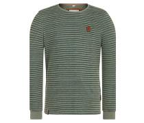 Kommt Ein Dünnschiss - Langarmshirt für Herren - Grün