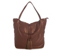 Nakawe - Handtasche für Damen - Braun