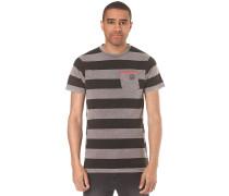 Christoph Washed Stripe - T-Shirt für Herren - Grau