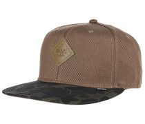 6P SB Hump Camo Snapback Cap - Beige