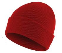 Basic Flap Mütze - Rot