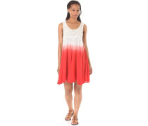 Tie Dye Pop - Kleid für Damen - Rot