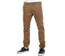 Jogger - Stoffhose für Herren - Beige