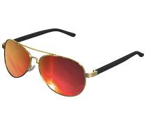 Mumbo Mirror Sonnenbrille - Gold